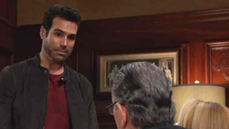 Jordi Vilasuso as Rey on The Young and the Restless.