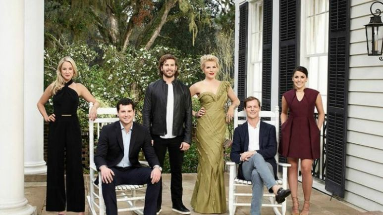 The cast of Southern Charm Charleston. Pic credit: Bravo