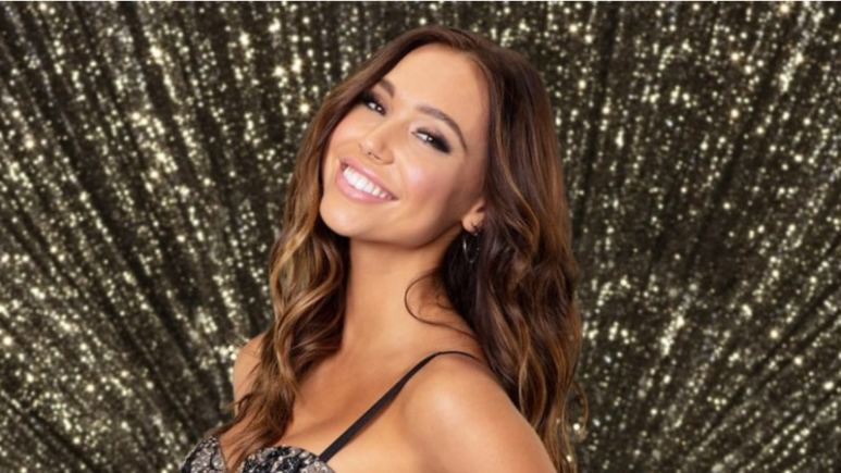 Alexis Ren in the official Dancing With The Stars press photo
