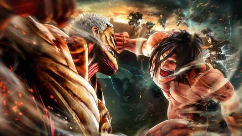 Artwork from the Attack On Titan Season 3 anime