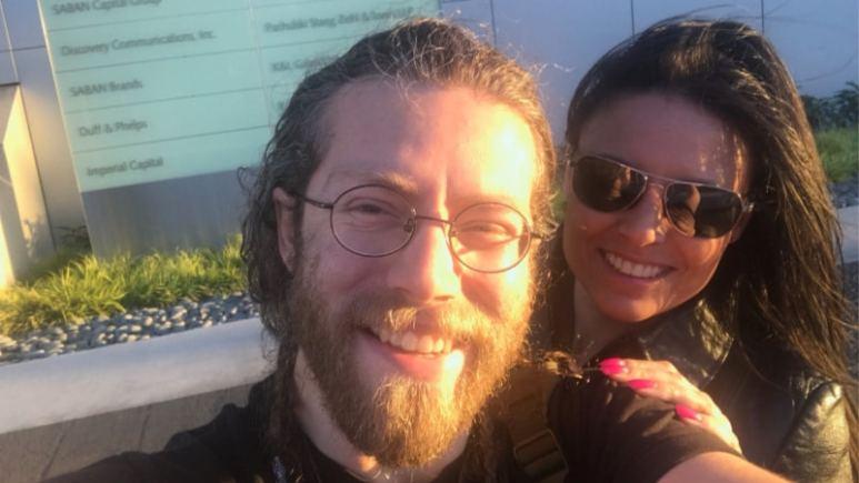 Bam Bam Brown and Allison Kagan