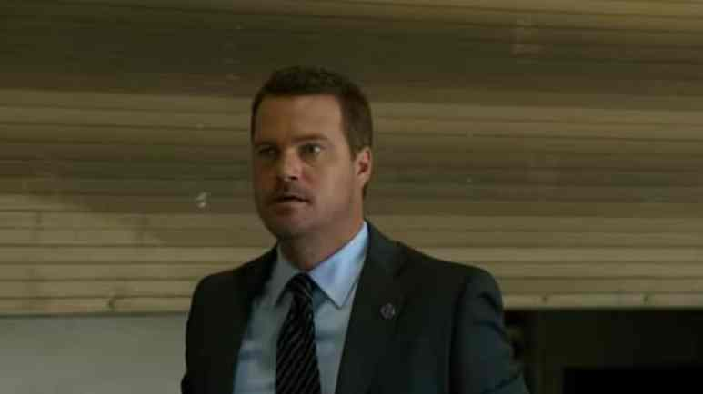 Chris O'Donnell as Callen during October 14 episode of NCIS: Los Angeles