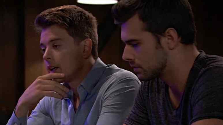Chad Duell and Josh Swickard as Michael and Chase on General Hospital