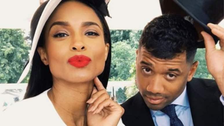 Ciara and husband Russell Wilson
