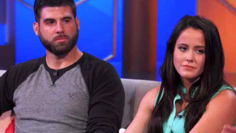 David Eason and Jenelle Evans at a Teen Mom 2 reunion show