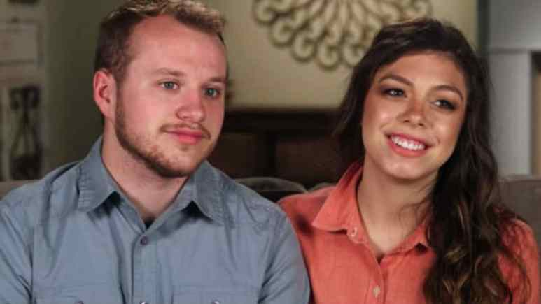 Josiah and Lauren Duggar in a confessional on Counting On