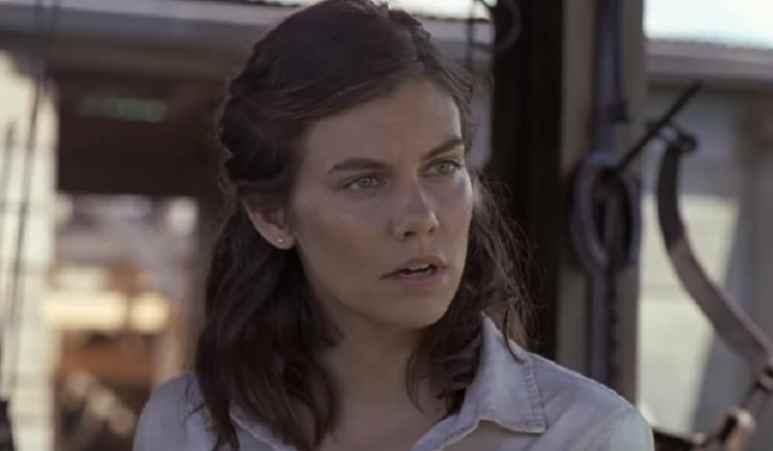 Lauren Cohan as Maggie Greene on The Walking Dead Season 9