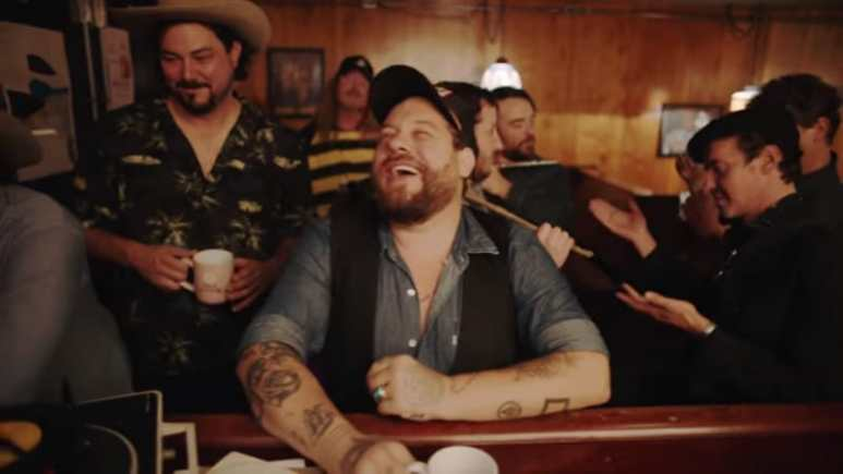 Nathaniel Rateliff & The Night Sweats perform their new hit A Little Honey