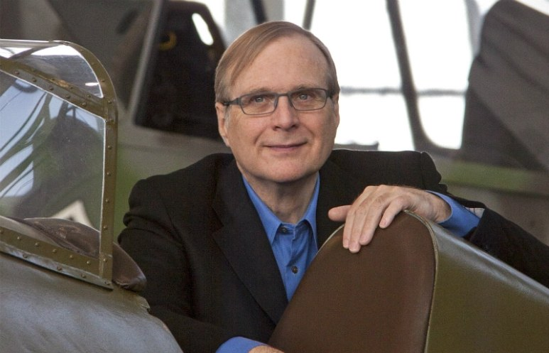 Paul Allen, co-founder of Microsft and owner of the Seattle Seahawks and Portland Trailblazers