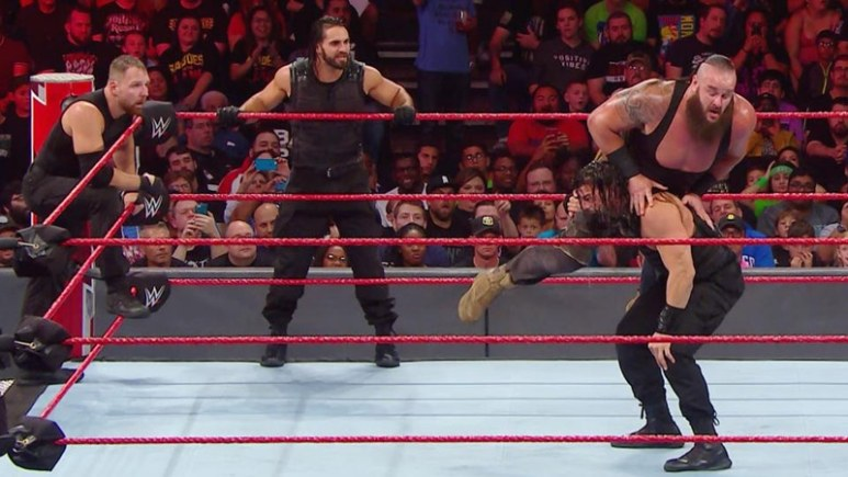 Dean Ambrose walks out on The Shield on WWE Monday Night Raw