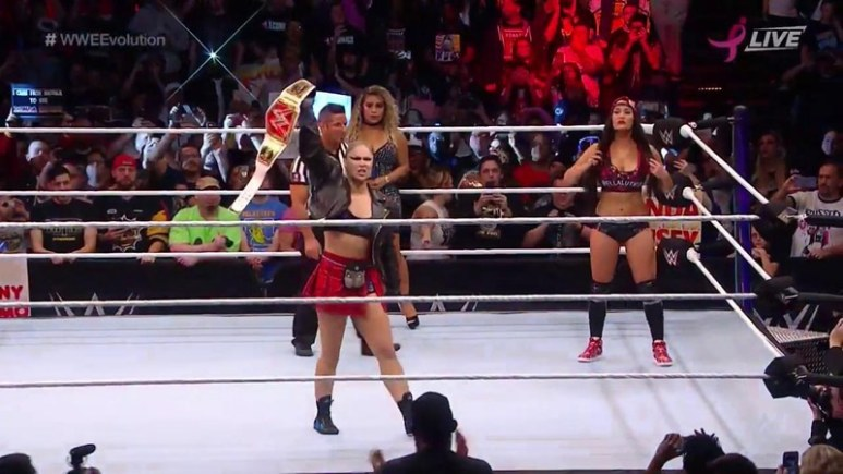 WWE Evolution results and recap: Breaking down the first all women's WWE pay-per-view event