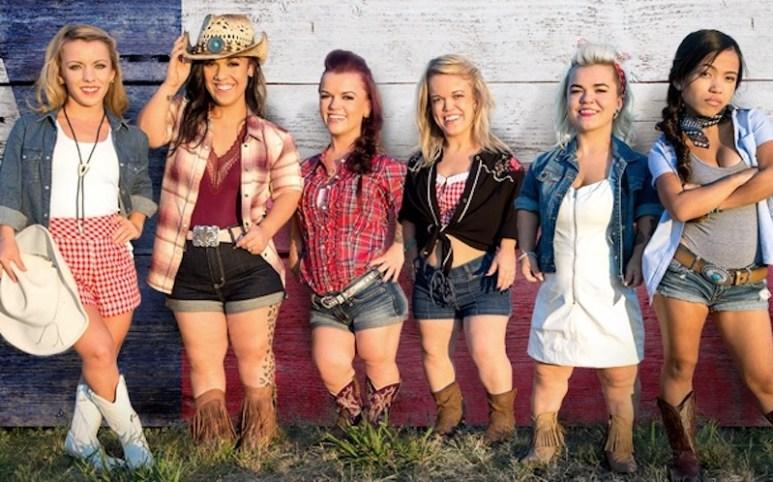 The cast of Little Women Dallas on Lifetime