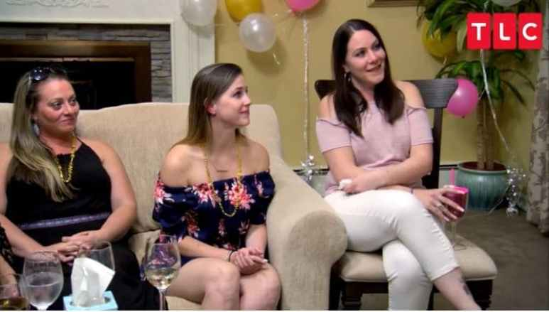 Bachelorette party reading on Long Island Medium
