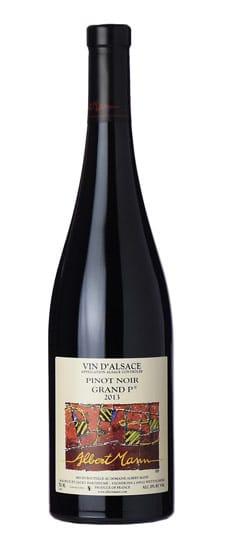 """Albert Mann Pinot Noir Grand """"H"""" 2014, Alsace Pic credit: Albert Mann Winery"""