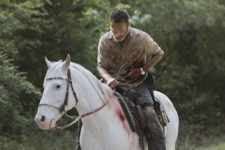 Andrew Lincoln as Rick Grimes - The Walking Dead _ Season 9, Episode 5 - Photo Credit: Jackson Lee Davis/AMC
