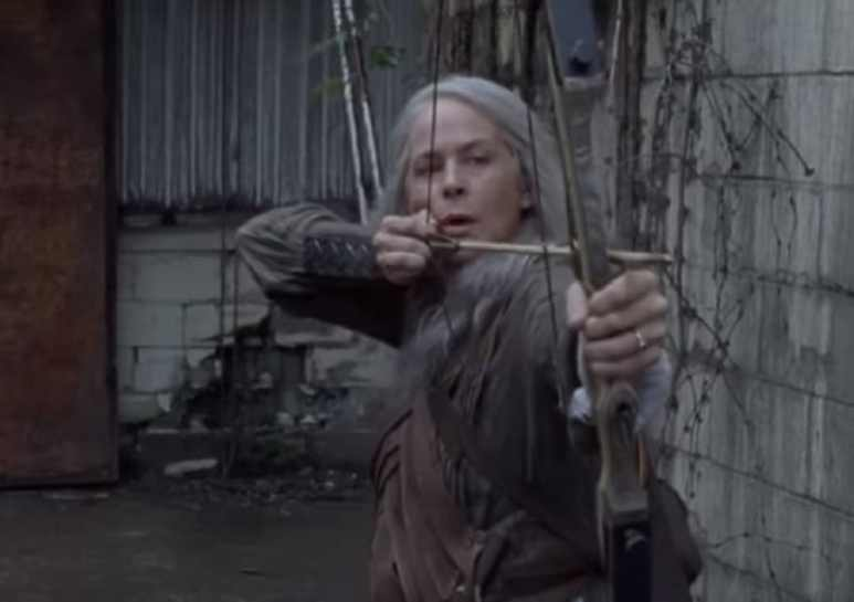 Carol sports a new look after The Walking Dead Season 9 time jump