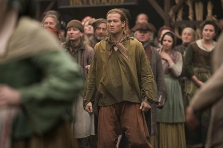 Ed Speleers plays Stephen Bonnet in Outlander