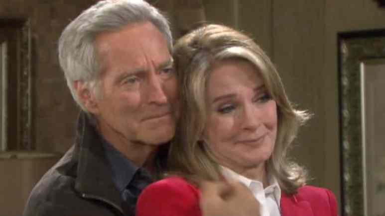 Drake Hogestyn and Deidre Hall as John and Marlena on Days of our Lives