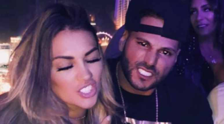 Jen Harley and Ronnie Ortiz-Magro on Instagram