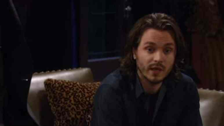Jonathan Jackson as Lucky Spencer on General Hospital in 2015