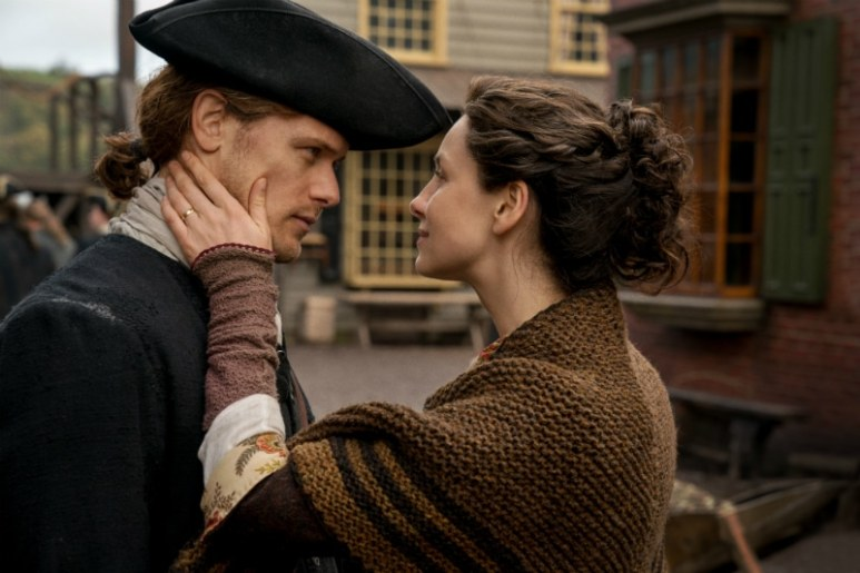 Claire and Jamie leave Scotland for a new life in America
