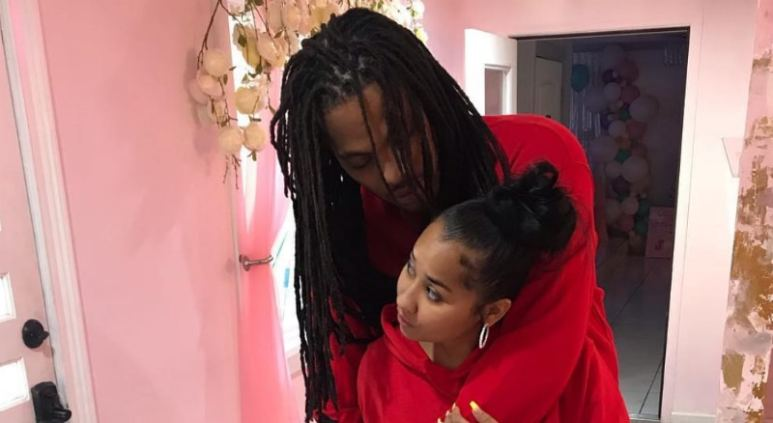 Waka Flocka and Tammy Rivera in their home