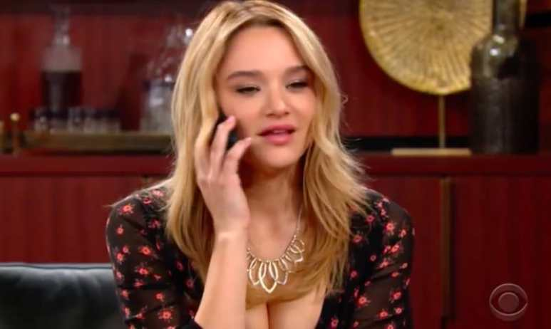 Hunter King as Summer Newman on The Young and the Restless