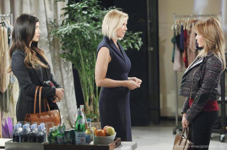 Taylor, Steffy and Brooke on The Bold and the Beautiful