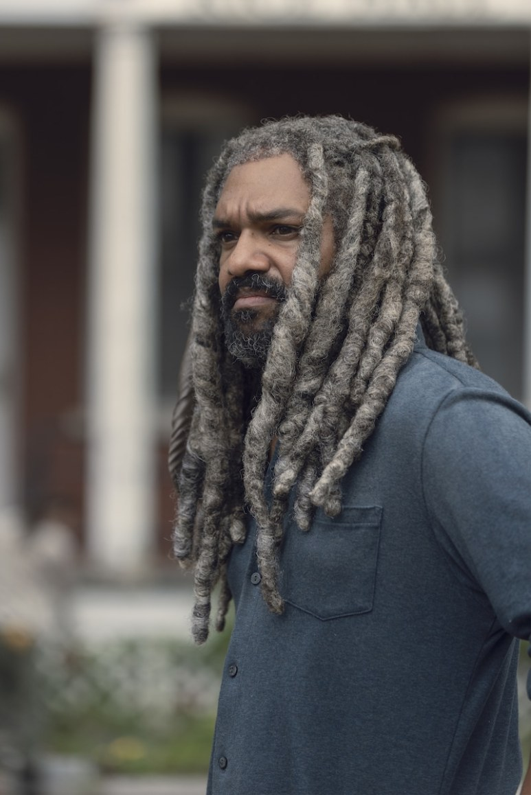 Khary Payton as Ezekiel - The Walking Dead _ Season 9, Episode 6 - Photo Credit: Gene Page/AMC