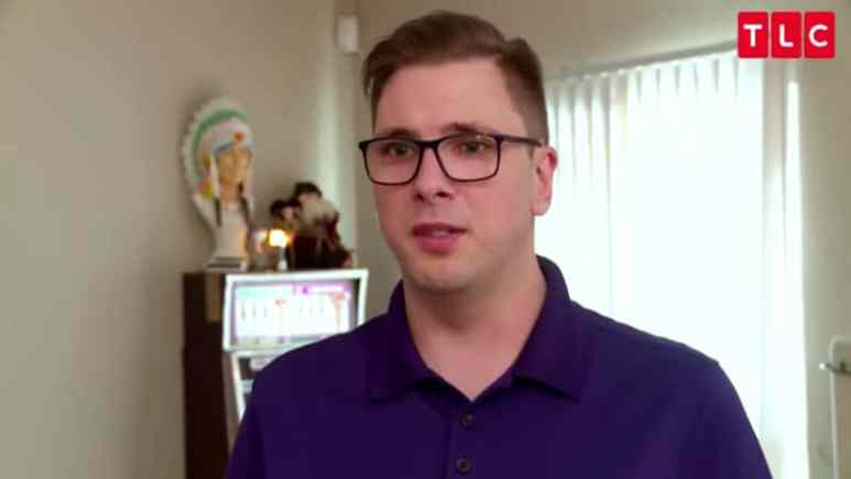 Colt Johnson from 90 Day Fiance has a job other than being a reality TV star. Pic credit: TLC
