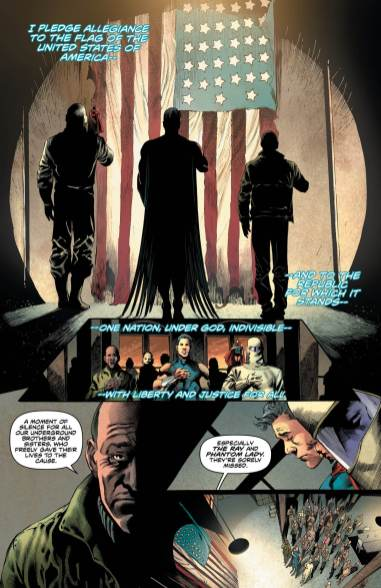 Preview - Freedom Fighters #1 Page 4 Lettered