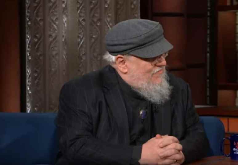 Game of Thrones creator George R.R. Martin on The Late Show with Stephen Colbert