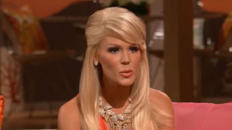 Gretchen Rossi at the RHOC Season 7 reunion