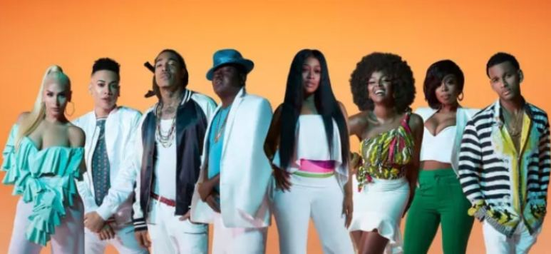 The cast of Love & Hip Hop: Miami