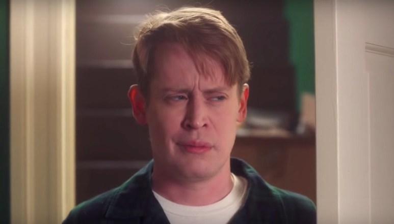 Macaulay Culkin in the new Google Assistant commercial