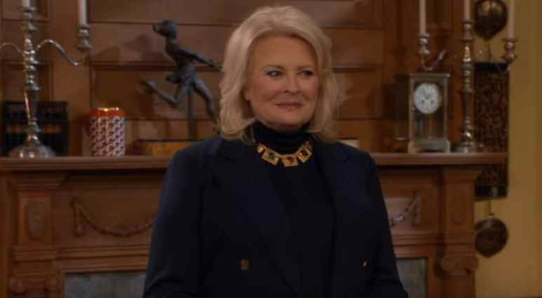 Candice Bergen on the Murphy Brown cast for a new episode