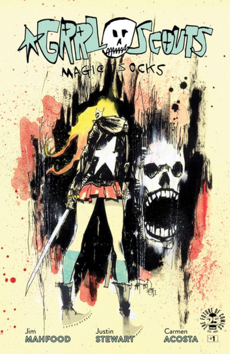 Grrl Scouts Magic Socks Cover