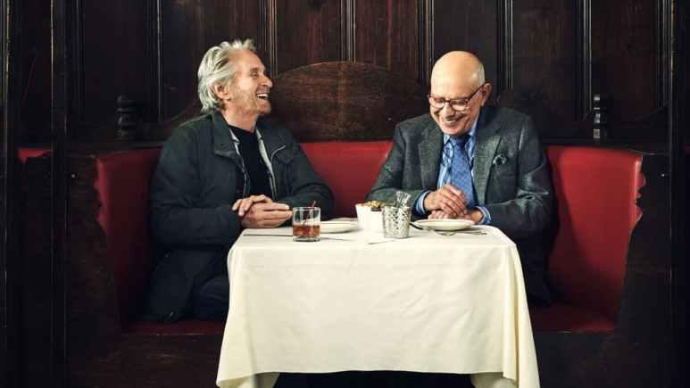 Douglas and Arkin are fantastic in The Kominsky Method Pic credit: Netflix