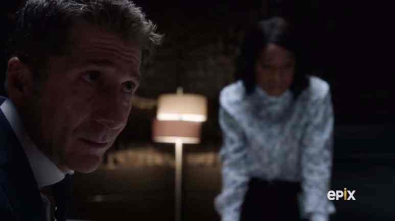 Kirsch knows the clock is ticking and Daniel is in mortal danger. Pic credit: Epix