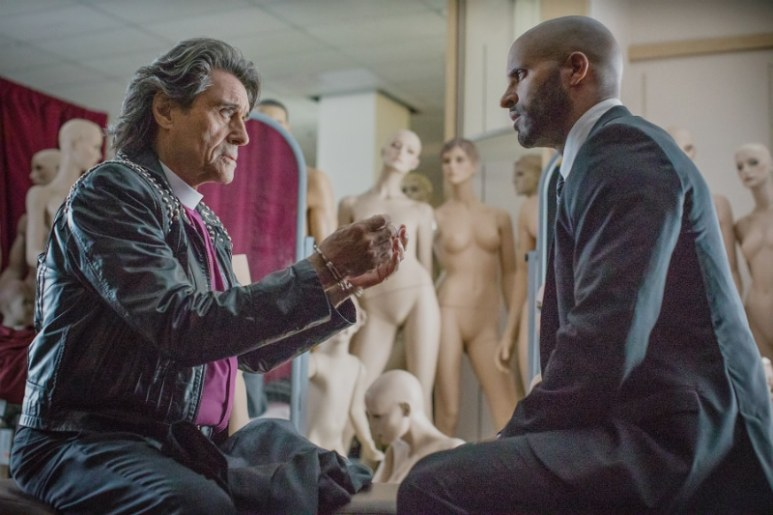 Mr. Wednesday and Shadow in Season 2 of American Gods