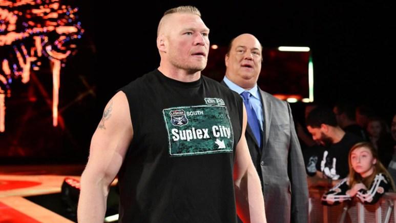 Brock Lesnar WWE Monday Night Raw return
