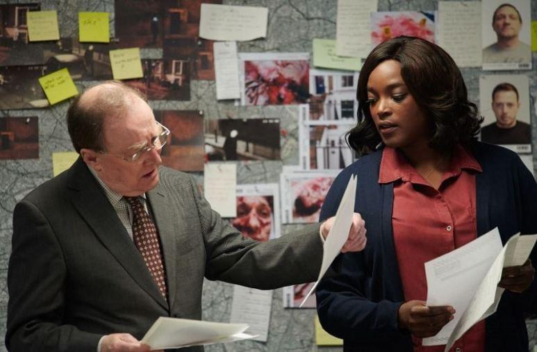 Luther TV series: Wunmi Mosaku