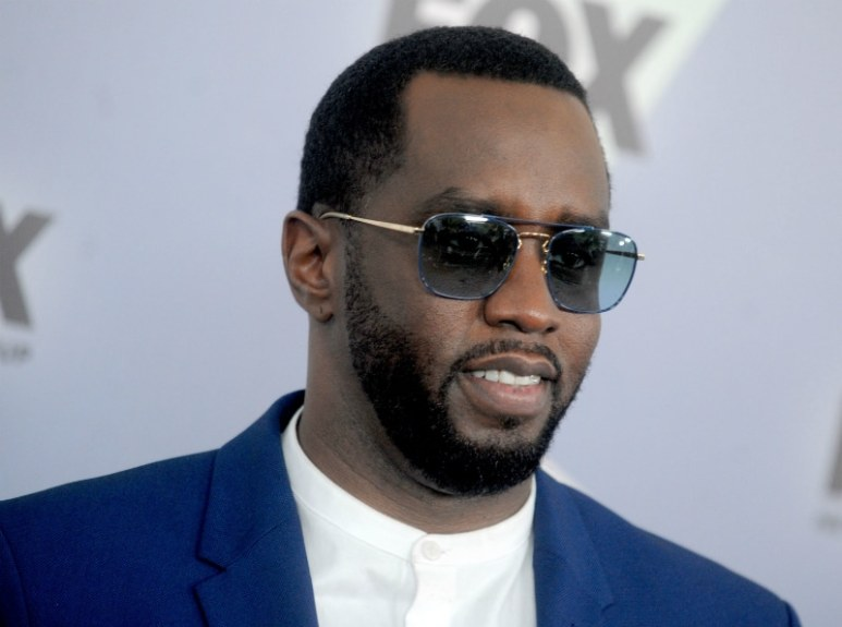 Sean P. Diddy Combs at The 2018 Fox Network Upfront in New York City.