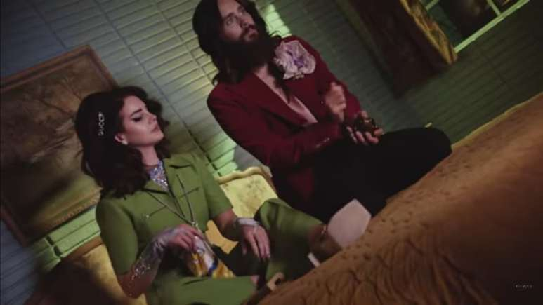 Lana Del Rey and Jared Leto in the new Gucci Guilty campaign