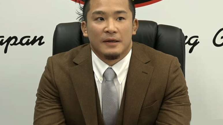 New Japan star leaving and teases WWE signing, and its not Kenny Omega