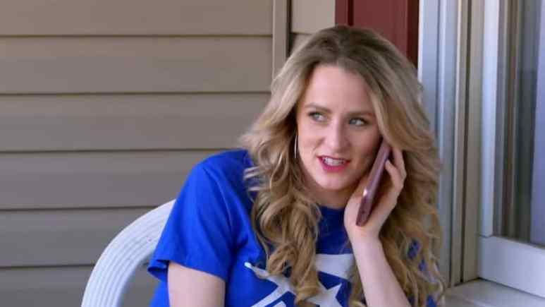 Leah Messer on the phone last season on Teen Mom 2