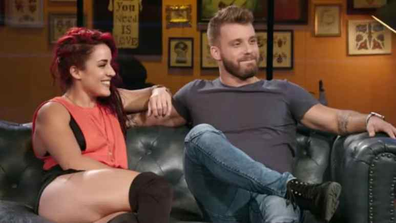 Paul and Cara Maria on How Far is Tattoo Far? on MTV