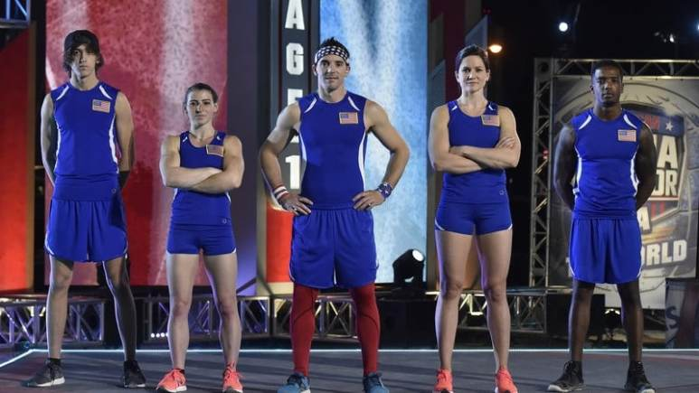 Team USA on American Ninja Warrior: USA Vs. the World