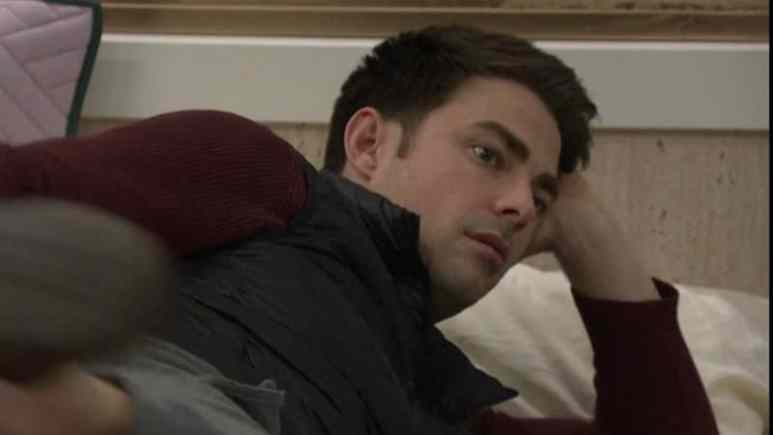 Jonathan Bennett in the Celebrity Big Brother house