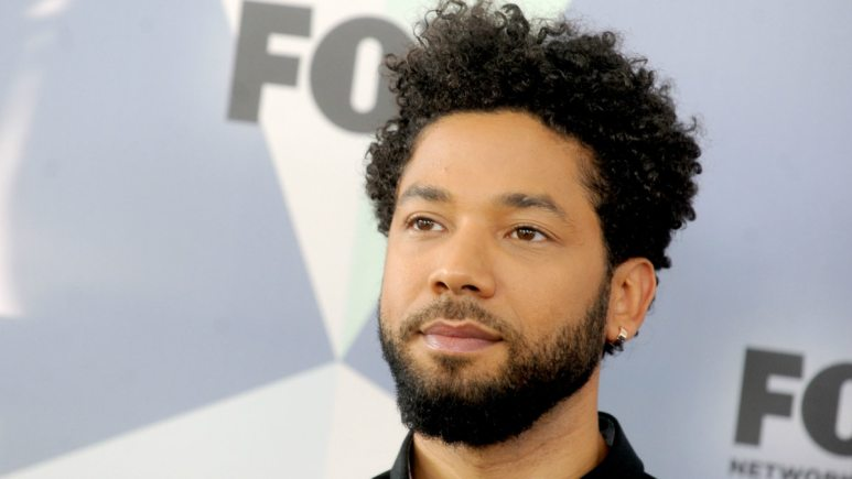 ussie Smollett at The 2018 Fox Network Upfront in New York City.